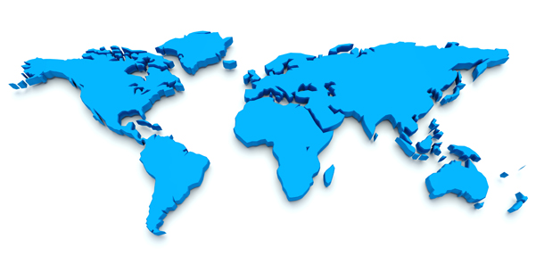 world-blue-map